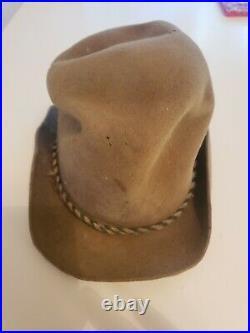 Civilian Civil War Hat Possibly Confederate