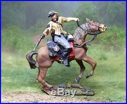 Collectors Showcase CIVIL War Confederate Cs00779 Mosby's Mounted Spencer Mib