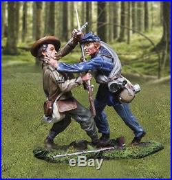 Collectors Showcase CIVIL War Union Cs00976 Confederate & Union Hand To Hand Mib