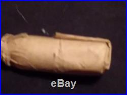 Confederate 69 Minie with brown wrapper Civil War buying one (1)