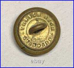 Confederate Army General Service Kepi Civil War Button