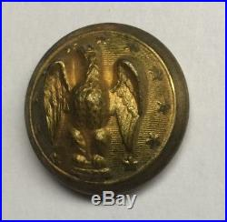 Confederate Army Officer Civil War Coat Button