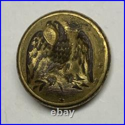 Confederate Army Officers Civil War Coat Button