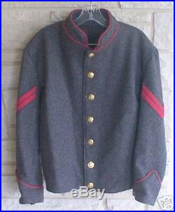 Confederate Artillery Corporal Shell Jacket, Civil War