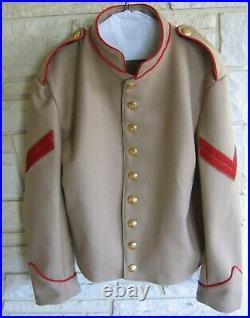 Confederate Artillery Shell Jacket, Butternut, Civil War