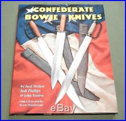 Confederate Bowie Knives CIVIL War Csa Fighting Dagger Cutlass Reference Book