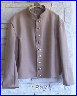 Confederate Butternut Shell Jacket, Civil War, New