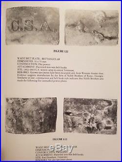 Confederate CSA Pewter Buckle Civil War Keim Figure 122 from East Tenn