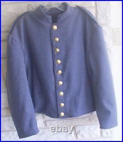 Confederate Cadet Gray Shell Jacket, Civil War, New