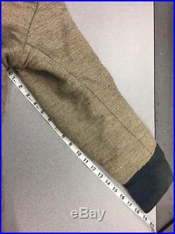 Confederate Campaigner Civil War Reenacting Frock Coat. Size 44