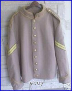 Confederate Cavalry Corporal Shell Jacket, Butternut, Civil War, New