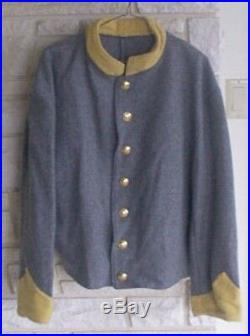 Confederate Cavalry Shell Jacket, Civil War, New