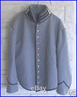 Confederate Cavalry Shell Jacket, Gray/Black, Civil War