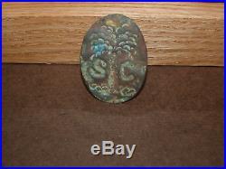 Confederate Civil War Kepi Badge South Carolina Very Rare
