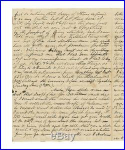 Confederate Civil War Letter Capt Mann Page, 21st VA Battle of Port Republic
