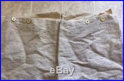 Confederate Civil War Reenacting Natural Gray Jean Wool Trousers. B&B Tart 40X30