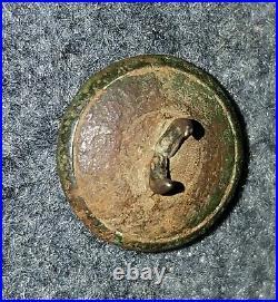 Confederate Civil War Script I Infantry Kepi Button (CS 177) Wilderness, VA