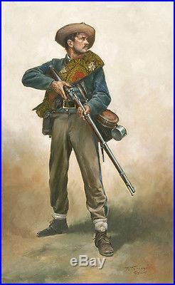 Confederate First Sergeant Don Troiani Civil War Artist Proof Print