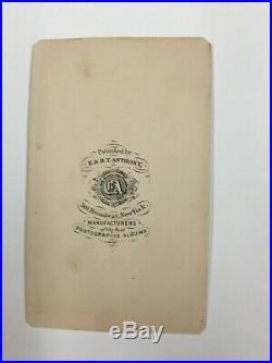Confederate General Fitzhugh Lee CDV Civil War R. E. Lee Nephew Matthew Brady