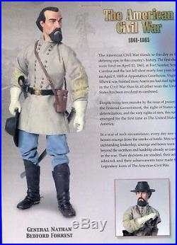 Confederate General Nathan Forrest Sideshow 1/6 Civil War