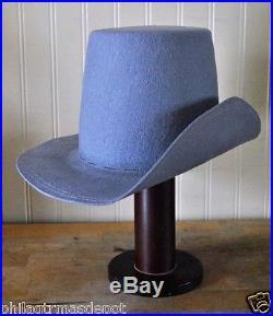 Confederate Hardee Hat Blank- CSA Gray (S, M, L, XL, XXL) Civil War