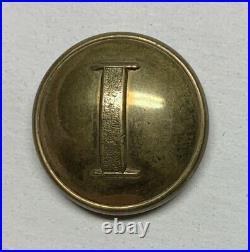 Confederate Infantry Civil War Coat Button