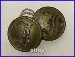 Confederate Infantry Civil War Coat Buttons