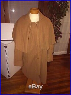 Confederate Infantry Great Coat, Butternut, Civil War
