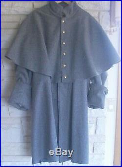 Confederate Infantry Great Coat, Civil War, New