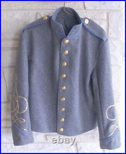 Confederate Infantry Lt Shell Jacket, Civil War, New