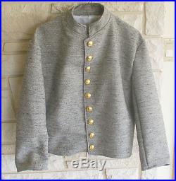 Confederate Jean Wool Shell Jacket, Civil War, New