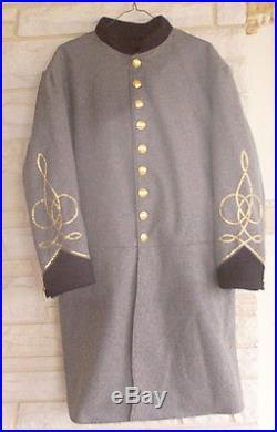Confederate Lt Frock Coat, Medical, Infantry, Civil War