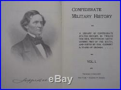 Confederate Military History Complete 12-volume Book Set CIVIL War