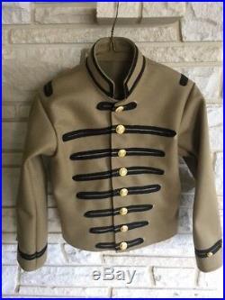 Confederate Musician Shell Jacket, Civil War, New