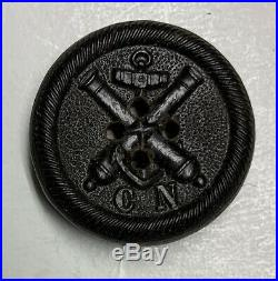 Confederate Navy Civil War Coat Button