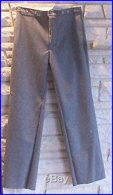 Confederate Pants, Gray, Civil War, New