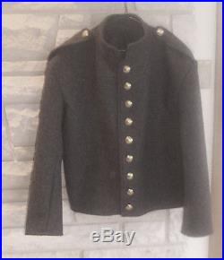Confederate Richmond Gray Shell Jacket, Civil War, New