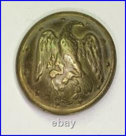 Confederate Staff Civil War Coat Button
