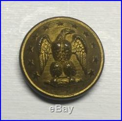 Confederate Staff Coat Button Civil War