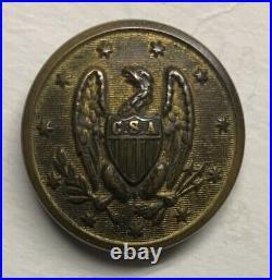 Confederate Staff Officers Civil War Coat Button