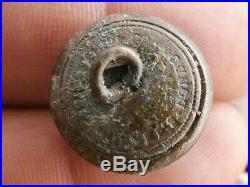 Confederate States Navy CSN button S. ISAAC Campbell Co -Sudley VA Civil War-Dug
