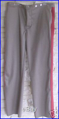 Confederate Tuscaloosa Gray Sgt Pants, Civil War, New