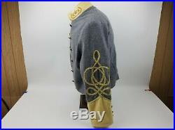Confederate Uniform Jacket General 3 Stars CSA Button Reenactment Civil War