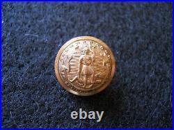Confederate Virginia Staff non dug Mitchel Tyler Richmond VA Civil War button