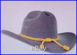 Confederate hat gray, civil war with CSA Pin
