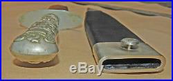 Confederate used UK-Made IXL George Wostenholm & Son Civil War era Bowie Knife