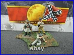 Conte Collectibles American Civil War 57121 Confederate Artillery Command Set