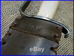 Custom Handmade Forged Confederate Soldier CIVIL War Cowboy Frontier Sword Edc