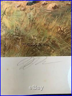 Don TROIANI BATTERY LONGSTREET CONFEDERATE ARTILLERY CIVIL WAR SIGNED #77/1000