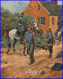 Don Troiani 1996 CONFEDERATE STATES MEDICAL SERVCE #42 Civil War Doctors
